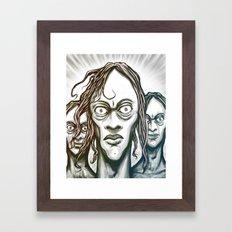 Stand Together Framed Art Print