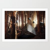 Cube Awakening Art Print