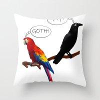 Deceptive Appearance Throw Pillow