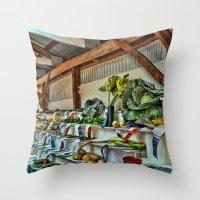The Good Ole Country Fai… Throw Pillow