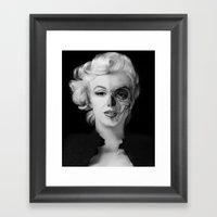 Dead Celebrities Series … Framed Art Print