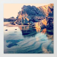 Crystal Clear, Beautiful Air Canvas Print
