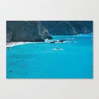 Blue Paradise, Seascape … Canvas Print