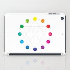 Simple Color Wheel iPad Case