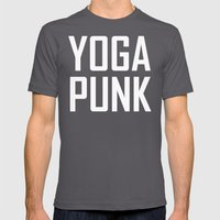 yoga punk Mens Fitted Tee Asphalt SMALL