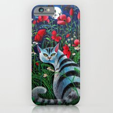 Cat In The Night iPhone 6 Slim Case