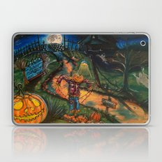 At the stroke of Halloween Laptop & iPad Skin