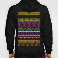 Colouful Aztec Hoody