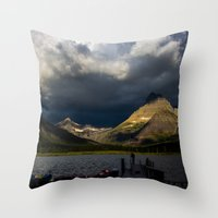 Routine morning Throw Pillow