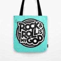 Rock & Roll God Tote Bag