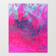 Hot N Drunk Pink #societ… Canvas Print