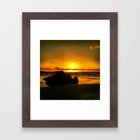 Rocks Within  Framed Art Print