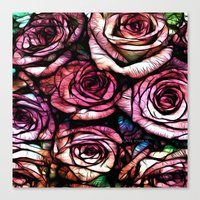 :: Rose Colored :: Canvas Print