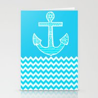 anchor Stationery Cards featuring Anchor by haroulita
