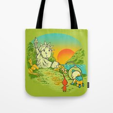 Planet of the Pikminis Tote Bag
