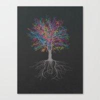 It Grows on Trees - Technicolor Canvas Print