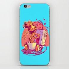 GROOVIN' THROUGH THE GALAXY iPhone & iPod Skin