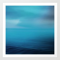 The Big Blue Art Print