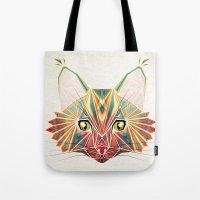savage cat Tote Bag