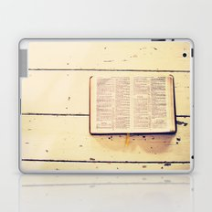 Reading the Psalms Laptop & iPad Skin