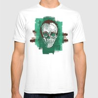 Keith POSTportrait Mens Fitted Tee White SMALL