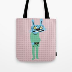 HIPSTER BUNNY Tote Bag