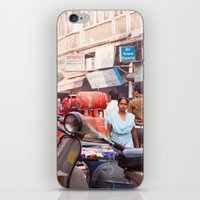 India New Delhi Paharganj 5577 iPhone & iPod Skin