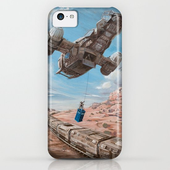 The Time Job - Firefly + Doctor Who  iPhone & iPod Case