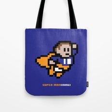 8-Bit: Super Man(ning) Tote Bag