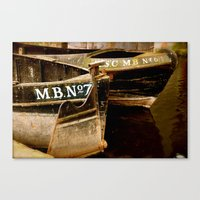 Two In Manchester Canvas Print
