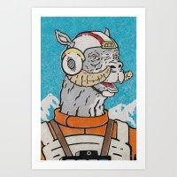 Luke (Pilot) Art Print