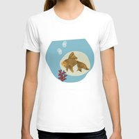 Hector Womens Fitted Tee White SMALL