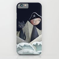iPhone & iPod Case featuring The Pirate Ship by Fizzyjinks