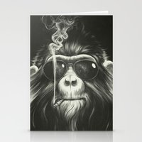 happy Stationery Cards featuring Smoke 'Em If You Got 'Em by Dr. Lukas Brezak