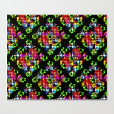 Rainbow Dreams Diamond W… Canvas Print