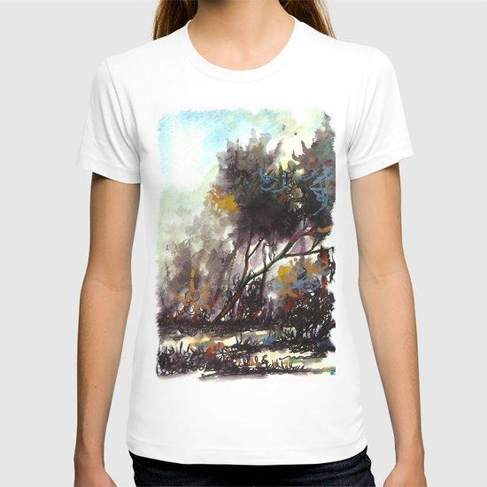 ağaç renkleri T-shirt
