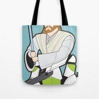 Obi-wan And Clone Troope… Tote Bag