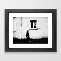 I follow you in the street, sometimes. 4 Framed Art Print