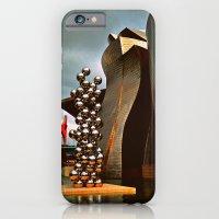 iPhone & iPod Case featuring Museo Guggenheim by Melanie Ann