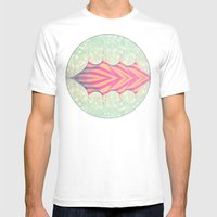 Circus Big Top Mens Fitted Tee White SMALL