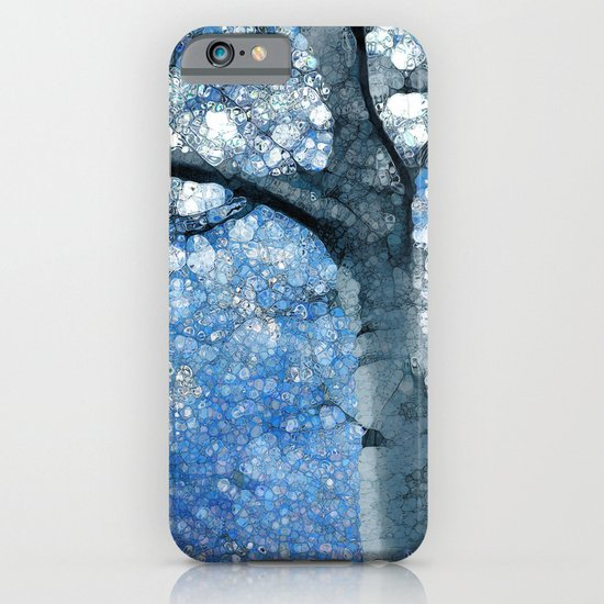 Magic Blue Tree iPhone & iPod Case