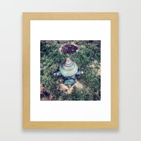 And Not A Drop To Drink Framed Art Print