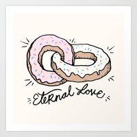 ETERNAL LOVE Art Print