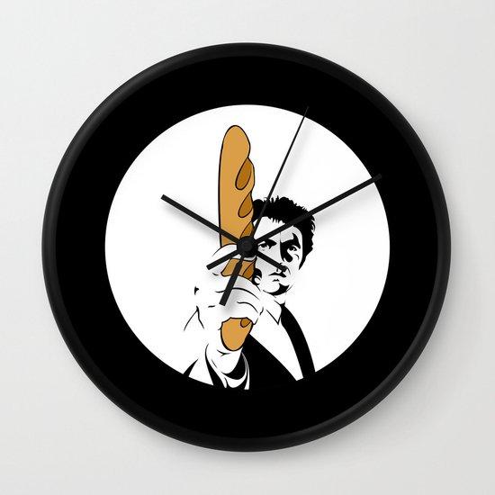 Go ahead, bake my day II Wall Clock