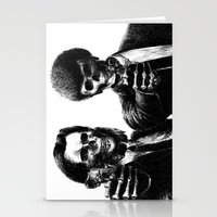 pulp fiction Stationery Cards featuring Pulp Fiction by Motohiro NEZU