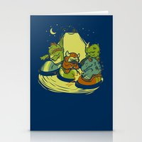 Things that go Bump in the Night Stationery Cards