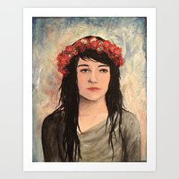 Tea Lady Art Print