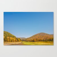 Catskill Mountains Canvas Print