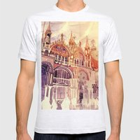 Venezia Mens Fitted Tee Ash Grey SMALL