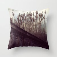 Month by The Lake Throw Pillow